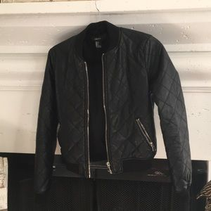 Forever 21 Pleather Jacket